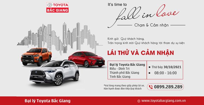Toyota Bắc Giang ra mắt phiên bản mới của Toyota Land Cruiser Prado và Toyota Fortuner đồng sự kiện lái thử tháng 10