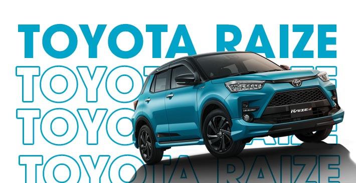 Bảng giá Toyota Raize & Khuyến mãi năm 2021