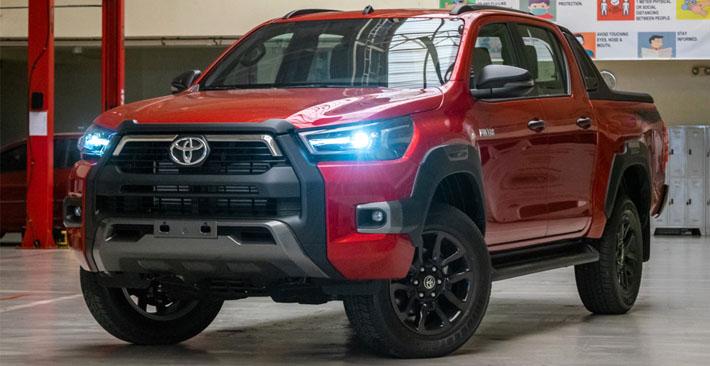 Toyota Hilux: Huyền thoại bán tải