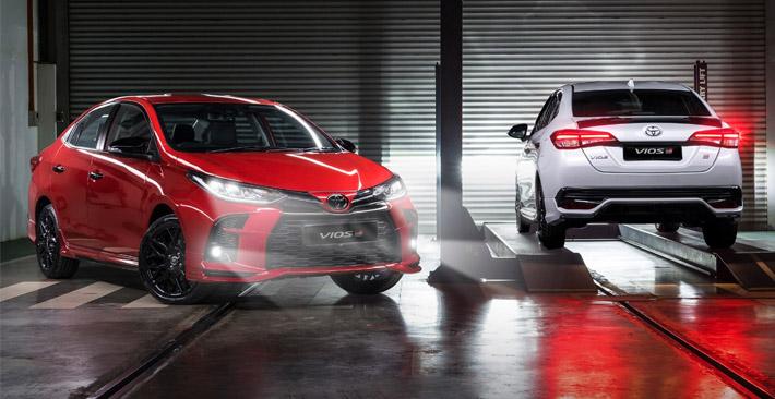 Đánh giá chi tiết xe Toyota Vios GRS bản thể thao siêu ấn tượng