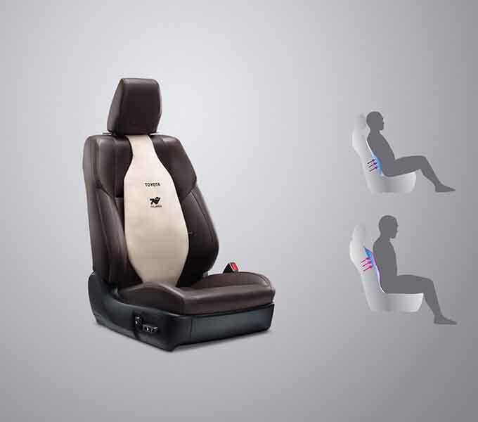 Tựa lưng ghế (màu Be/màu Đen)
