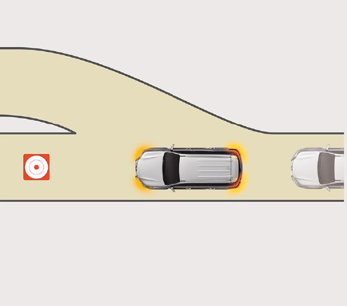 Tính năng nháy đèn khi phanh khẩn cấp (EBS)