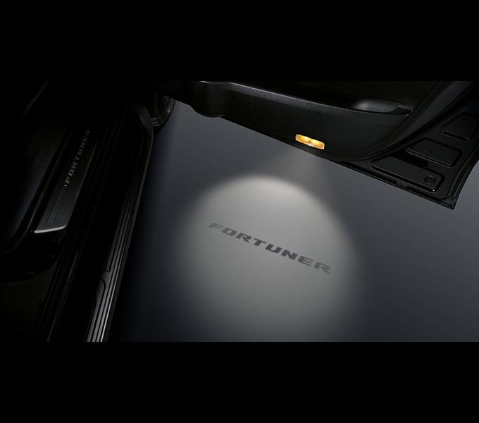 Đèn cửa hiện chữ (1 đèn/Bộ) (Dành cho xe 2.7AT...