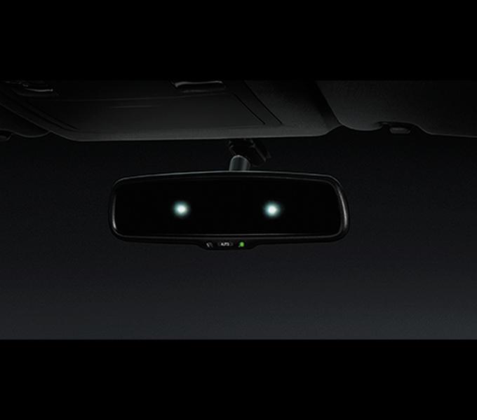 Gương điện chống lóa (Dành cho xe 2.4MT 4x2)